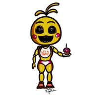 Chibi Toy Chica by SpinaOscura