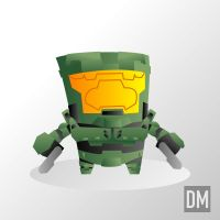 Master Chief by DanielMead