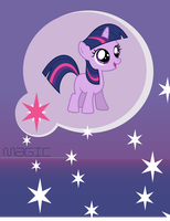 Twilight Sparkle Cell Wallpaper (BlankFlank 2) by SamXJing