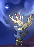 COMMISSION: Chibi Xerneas