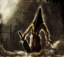 Pyramid Head by stryfers