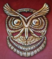 Owl piece by isaac77598