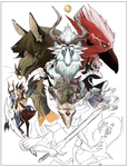 WIP for Legend of Atlin by Yuroboros