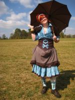 Wrench Wench Steampunk Outfit by dreadnoughtdesigns