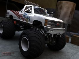 Chevrolet Monster Truck by SeamZ2B