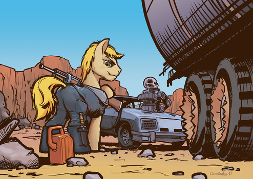 Saint Max - Fuel Road by Cannibalus