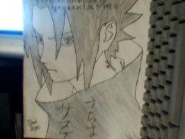 Uchiha Sasuke View 2 by Jhackney1337