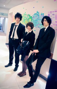 Psycho-Pass by Emi-zone