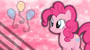 Laughter is Magic - Pinkie Pie Wallpaper by SuperT124