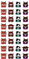 Sliders Icons - All Expressions by Gathion