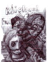Michael, Freddy, and Jason by HorrorMadnessPeep