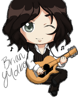 Prize: Brian Molko by MzMegs