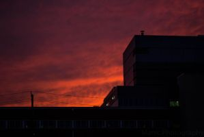 Sunsets and Hospitals by mandeax