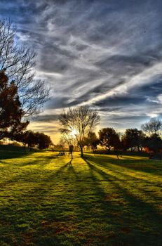 A Warm Autumn's End HDR 2 by OneofakindKnight