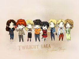 Twilight Saga by Lennves