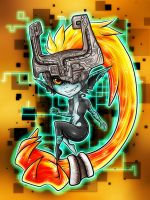 Midna, the Twilight Princess by Blue-Fayt
