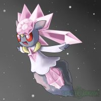 Diancie by ToaLittleboehn