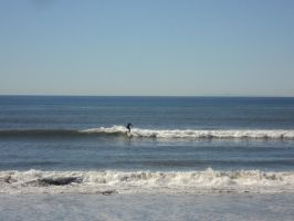 Lone Surfer by thanatopsis3