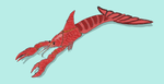 Spiny lobster's ferocious grand-daughter ! by Brobar