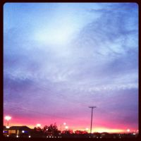 Sunsetonchristmas by urging