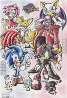 Sonic Adventure 2 Battle by GraphiteFalcon