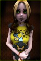Brujalina and the Evil Teddy by akulla3D
