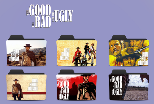 The Good The Bad  And  The Ugly  Pack 2 by lahcenmo