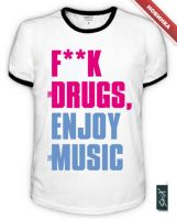 Enjoy Music T-Shirt by Sir-SiriX