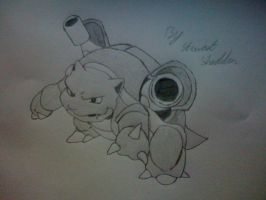 Blastoise from Pokemon by captonstu