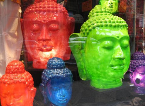 Reflections on Buddhas by HarrisGraber