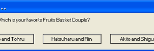 Fruits Basket Couples message by Winged--Maned--Wolf