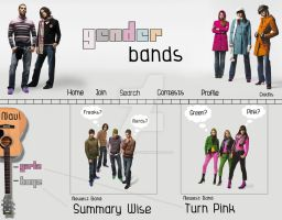 Gender Bands by little-billie