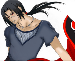 Itachi by Delthora