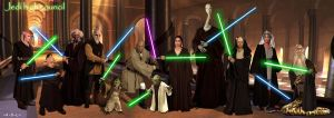 jedi high council by adlpictures