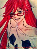 casual Grell Sutcliff by undercreed-genesis