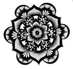 Floral Mandala by KatieConfusion