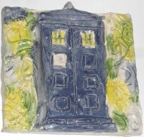 Tardis Sculpture by withalittleluck