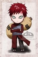 Chibi Gaara by nihase