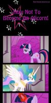 How NOT To Become An Alicorn! by Moon--Dreamer
