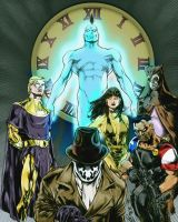 The Watchmen by Ludkubo