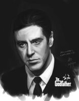 Michael Corleone by borjen-art