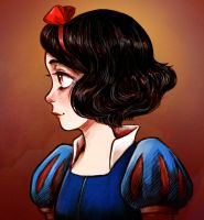 Snow White again by courtneygodbey