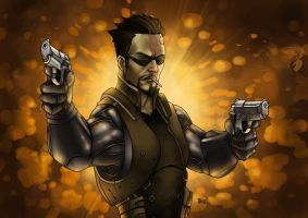 Adam Jensen final by dartbaston