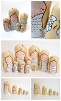 Angelic Russian Dolls by ponychops