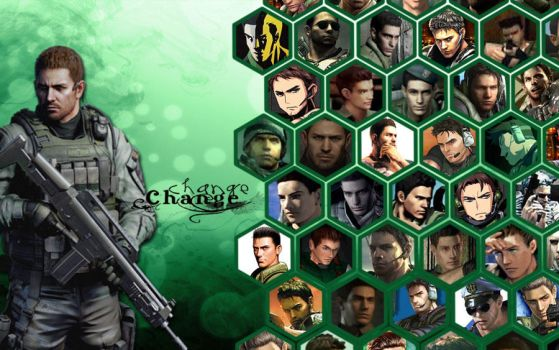 Change-Chris Redfield by Isobel-Theroux