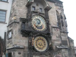 astronomical clock - prague 2 by nazarienne