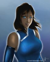 Korra by hamstermermaid