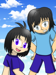 Testing of Me and Leo in Manga Studio by LunarGirl2z