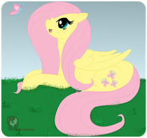 Flutter by Fluttershy by iPandacakes