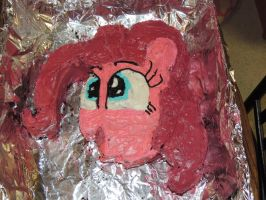 Pinkie Pie cake by Zainx10
